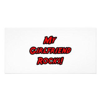 My Girlfriend Rocks Photo Card Template