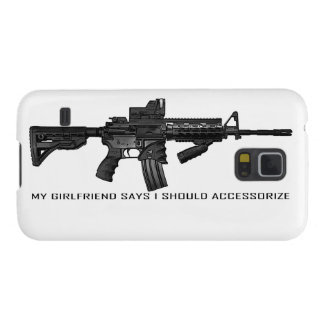 My Girlfriend Says I Should Accessorize AR15 Case For Galaxy S5