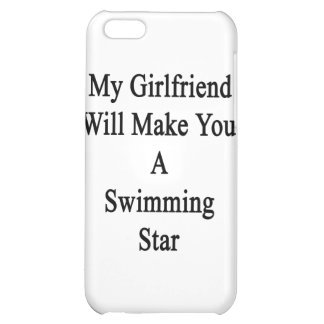 My Girlfriend Will Make You A Swimming Star Case For iPhone 5C