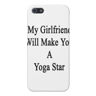 My Girlfriend Will Make You A Yoga Star iPhone 5/5S Cover