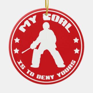 My Goal, Field Hockey (red) Ornament