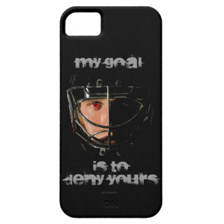 My Goal (Hockey Goalie) iPhone 5 Cases