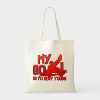 My Goal, Hockey Goalie tote bag