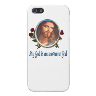 My God is an awesome god Cover For iPhone 5/5S