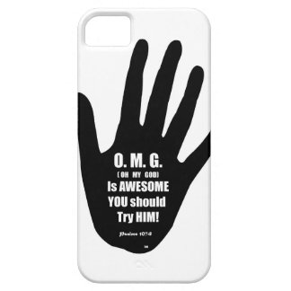 My God is Awesome on Everything Case For The iPhone 5