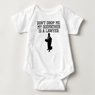 My Godfather Is A Lawyer Baby Bodysuit