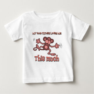 My godfather loves me this much baby T-Shirt