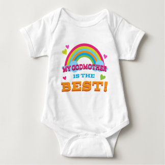 My Godmother is the Best Baby Bodysuit