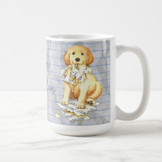 My Golden Ate My Lesson Plan Coffee Mug