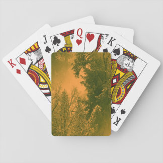 My Golden Christmas... Playing Cards