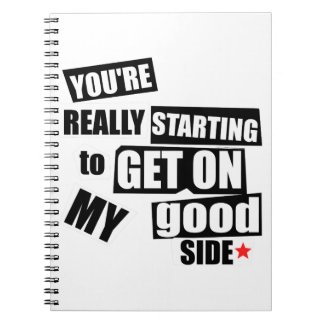 My Good Side Notebook