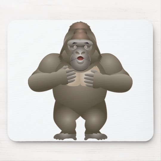 My Gorilla Mouse Pad