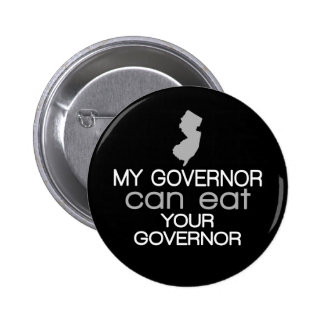 My Governor can eat Your Governor - Christie 2 Inch Round Button