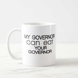 My Governor can eat Your Governor - Christie Classic White Coffee Mug