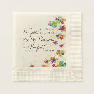 My Grace is Sufficient Paper Napkins