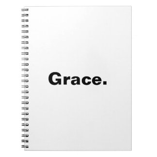 My grace is sufficient... Spiral Note Book