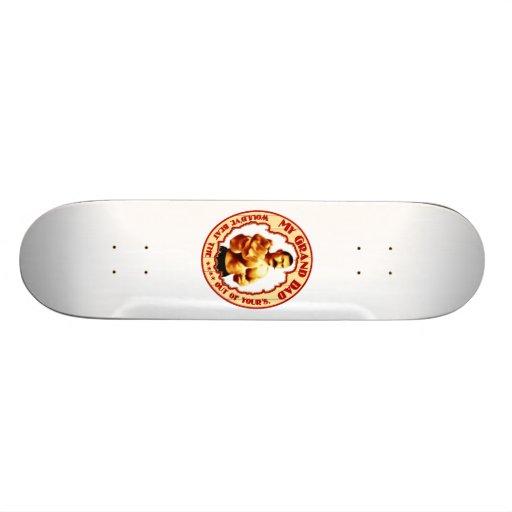 """My Grand Dad"" Color Skateboard Deck"
