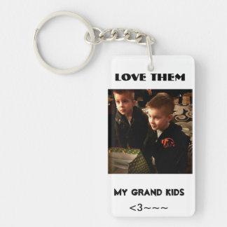 my grandkids keychain