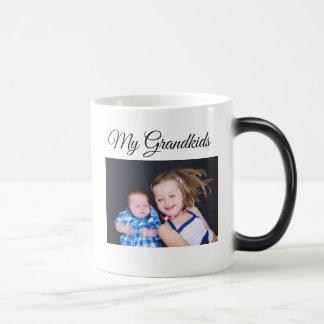 My Grandkids Personalized Photo Coffee Mug