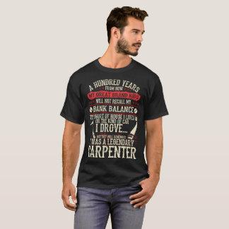 My Grandkids Remember I Was A Legendary Carpenter T-Shirt