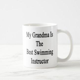 My Grandma Is The Best Swimming Instructor Basic White Mug