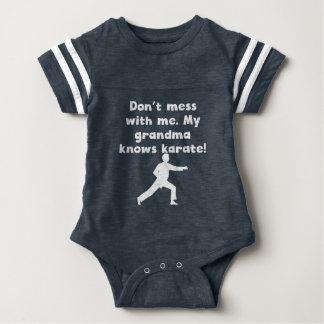My Grandma Knows Karate Baby Bodysuit