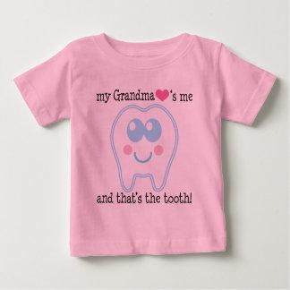 My Grandma Love Me Funny Baby T-Shirt