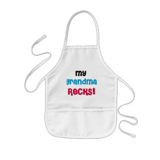 My Grandma Rocks T-shirts and Gifts Kids Apron