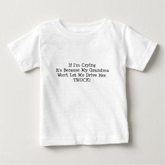 My Grandma Wont Let Me Drive Her Truck Baby T-Shirt