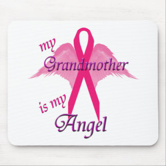 My Grandmother is my angel Mouse Pad