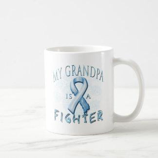 My Grandpa is a Fighter Light Blue Mug
