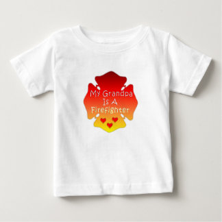 My Grandpa Is A Firefighter Baby T-Shirt