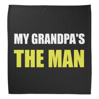 My Grandpa Is The Man Bandana