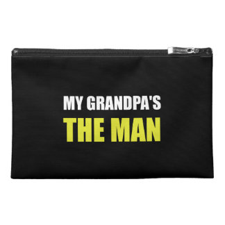 My Grandpa Is The Man Travel Accessories Bag