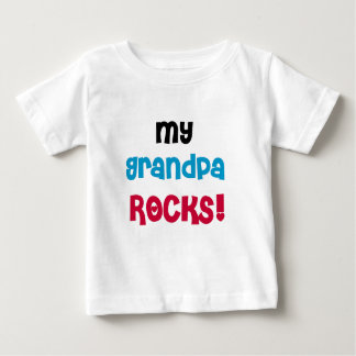 My Grandpa Rocks Baby T-Shirt