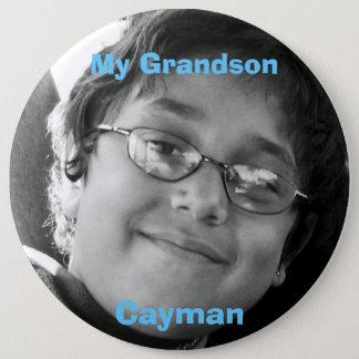 My Grandson, Cayman 6 Inch Round Button