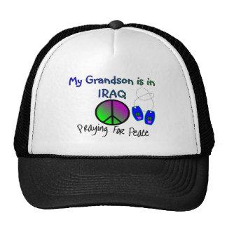 My Grandson is in IRAQ T-Shirts Trucker Hat