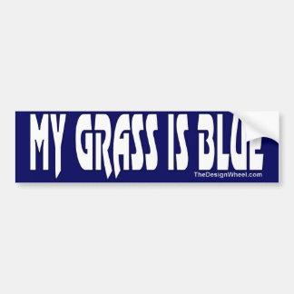 My Grass Is Blue #7 Bumper Sticker