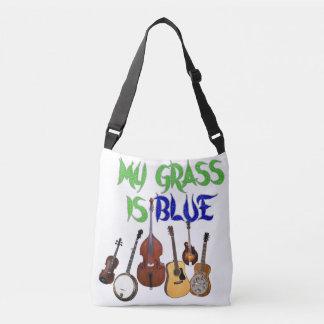 MY GRASS IS BLUE CROSSBODY BAG