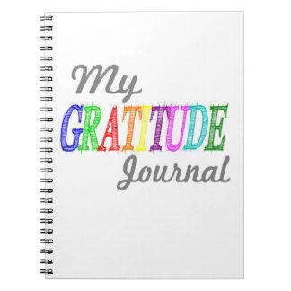 My Gratitude Journal Notebooks