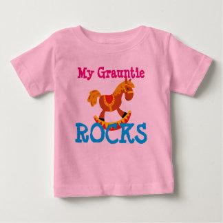 """My Grauntie Rocks!"" Baby T-Shirt"