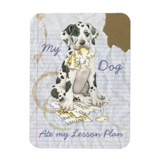 My Great Dane Ate My Lesson Plan Magnet