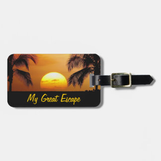 My Great Escape Luggage Tag