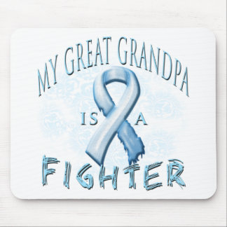 My Great Grandpa is a Fighter Light Blue Mouse Pad