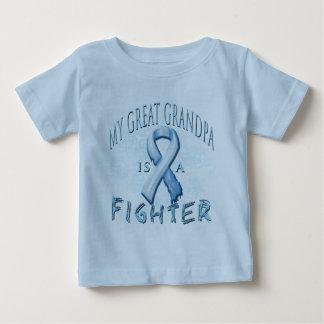 My Great Grandpa is a Fighter Light Blue T Shirt