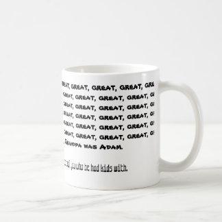 My great, great... is Adam Mug