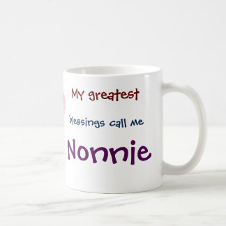My Greatest Blessings Call Me Nonnie Coffee Mug