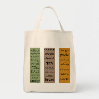 My Grocery List_Organic Tote Bag