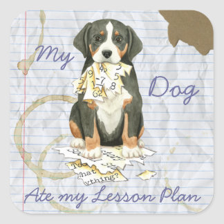 My GSMD Ate my Lesson Plan Square Sticker