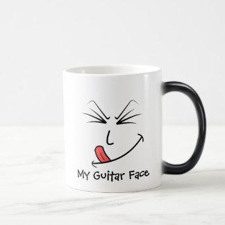 My Guitar Face Music Magic Mug